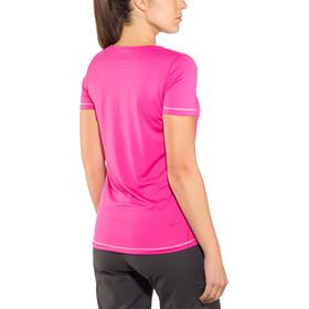 Salomon Mazy Lyhythihainen T-paita Naiset, pink yarrow